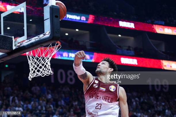 Michael Carrera of the Venezuela National Team action during the match against the Russia National Team during the 2nd round of 2019 FIBA World Cup...