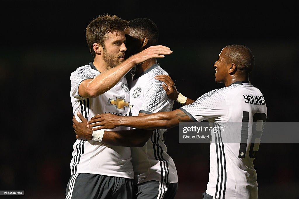 Northampton Town v Manchester United - EFL Cup Third Round : News Photo