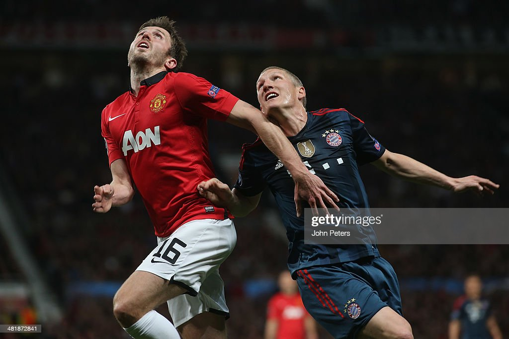 Manchester United v FC Bayern Muenchen - UEFA Champions League Quarter Final : News Photo
