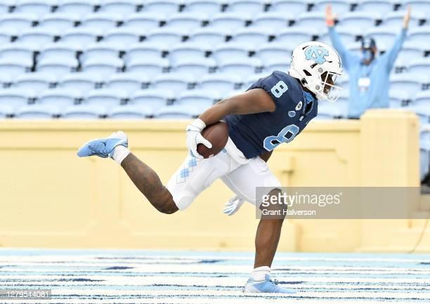 Chazz Surratt North Carolina Tar Heels Jordan Football Jersey - Navy