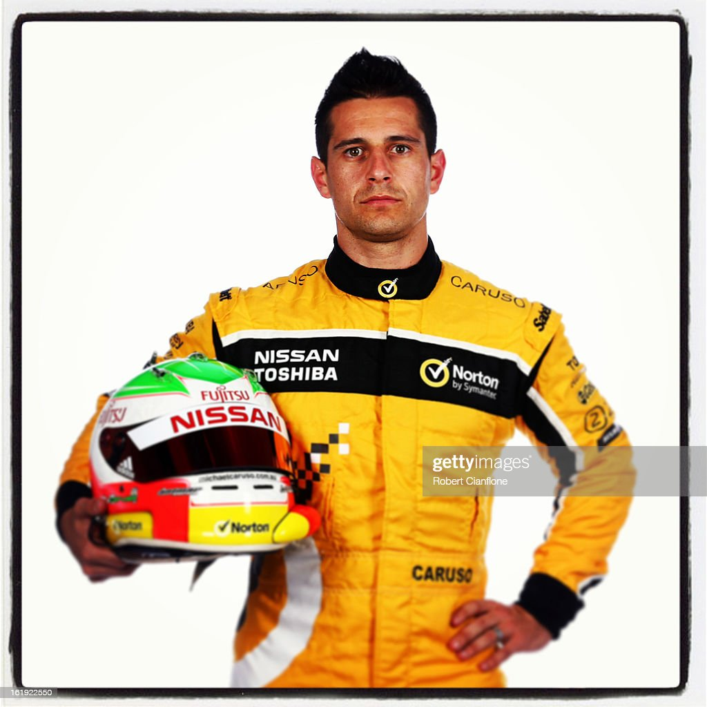 Michael Caruso of Norton 360 Racing poses during a V8 Supercars driver portrait session at Eastern Creek on February 15, 2013 in Sydney, Australia.