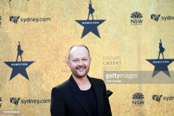 Michael Cassel attends the Australian premiere of Hamilton at Lyric Theatre, Star City on March 27, 2021 in Sydney, Australia.
