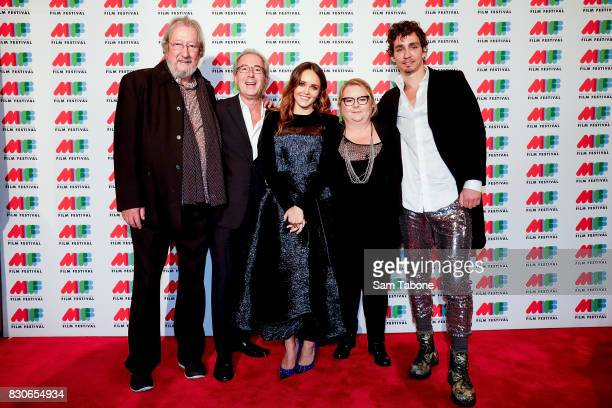 Michael Caton Ben Elton Rebecca Breeds Magda Szubanski and Robert Sheehan arrive ahead of the world premiere of Three Summers as part of the 66th...