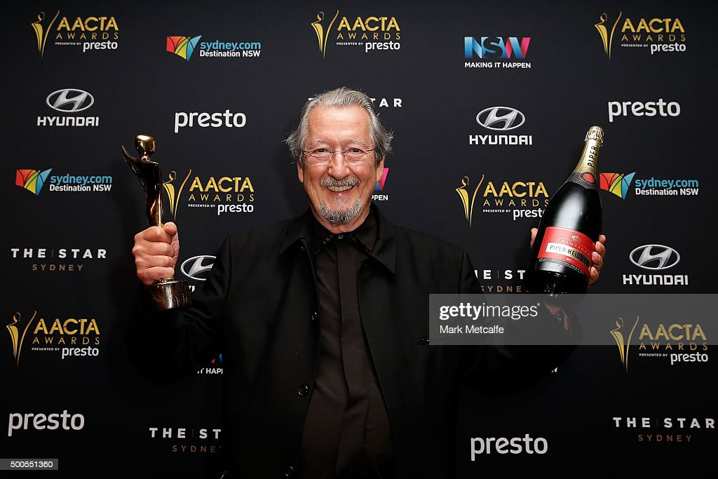 Michael Caton wins the AACTA Award for Best Lead Actor during the 5th AACTA Awards Presented by Presto at The Star on December 9, 2015 in Sydney, Australia.