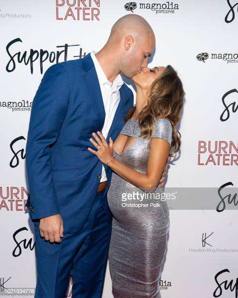 Michael Caussin and Jana Kramer arrive to the premiere of Magnolia Pictures' Support The Girls at the ArcLight Hollywood on August 22 2018 in...