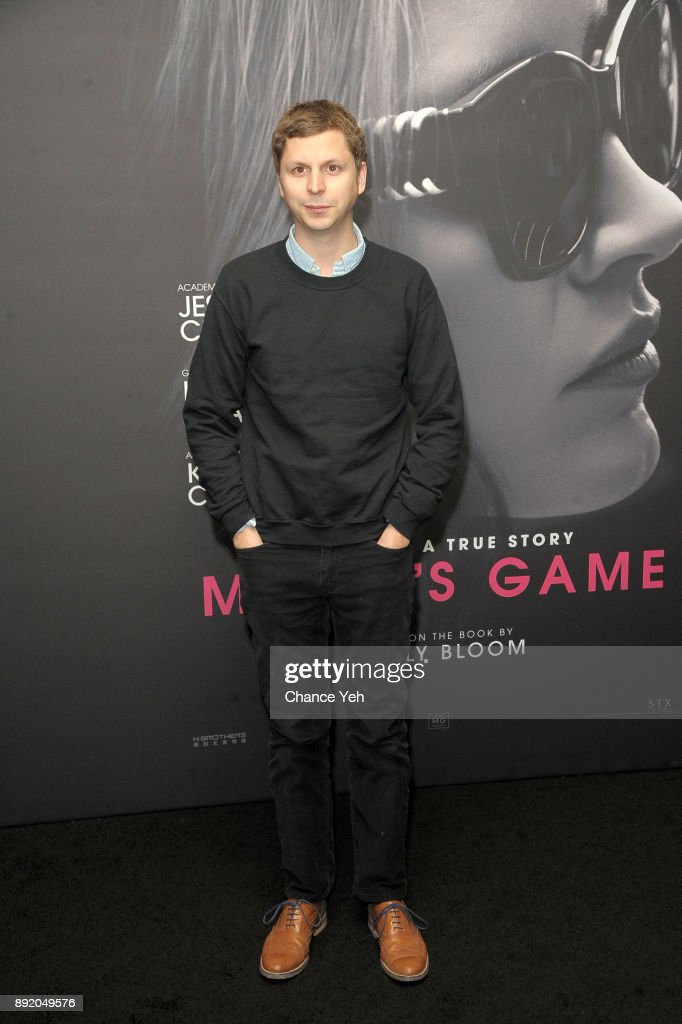 Michael Cera attends 'Molly's Game' New York premiere at AMC Loews Lincoln Square on December 13, 2017 in New York City.