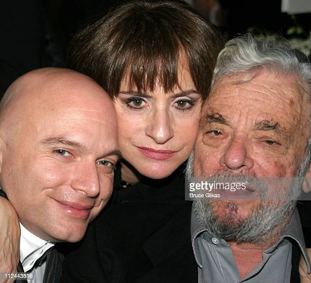 Michael Cervaris Patti LuPone and Stephen Sondheim composer