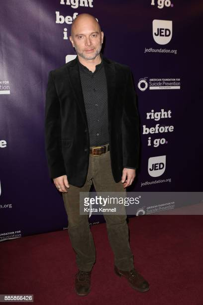 Michael Cerveris attends 'Right Before I Go' One Night Only Benefit Performance at Town Hall on December 4 2017 in New York City