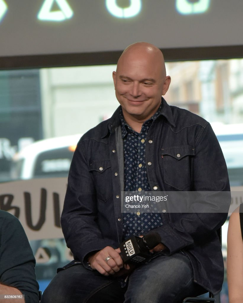 Michael Cerveris attends the Build series to discuss 'The Tick' at Build Studio on August 16, 2017 in New York City.