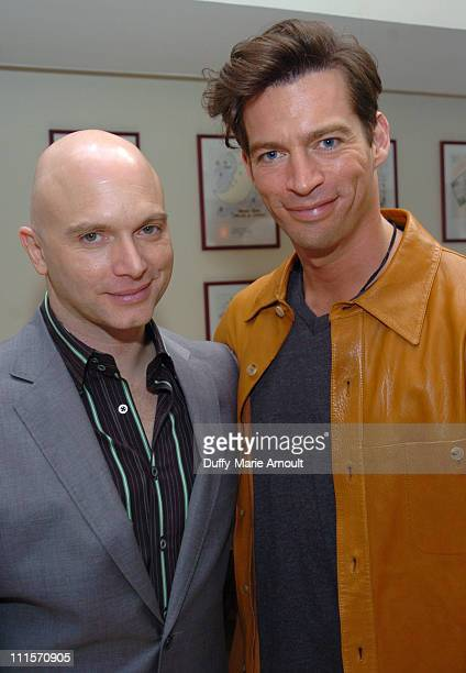 Michael Cerveris of Sweeney Todd and Harry Connick Jr of The Pajama Game