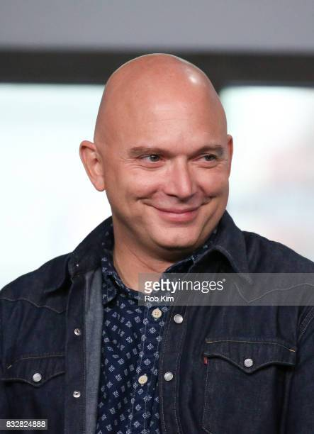 Michael Cerveris of 'The Tick' visits at Build Studio on August 16 2017 in New York City