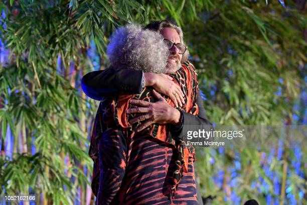 Michael Chabon and Margaret Atwood attend the Hammer Museum 16th Annual Gala in the Garden with generous support from South Coast Plaza at the Hammer...