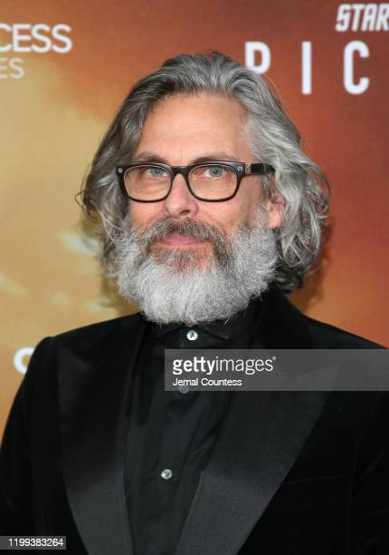 """Michael Chabon attends the premiere of """"Star Trek: Picard"""" at ArcLight Cinerama Dome on January 13, 2020 in Hollywood, California."""