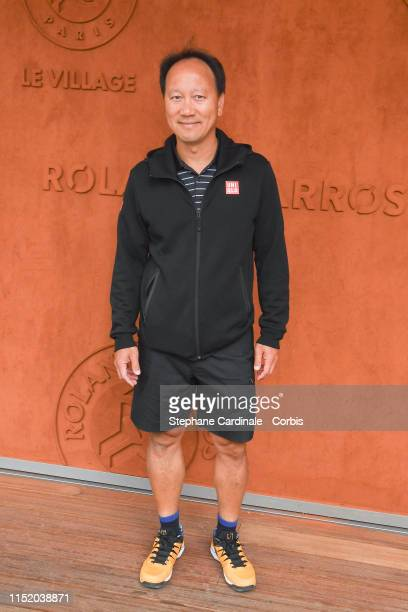 Michael Chang attends the 2019 French Tennis Open Day Two at Roland Garros on May 27 2019 in Paris France