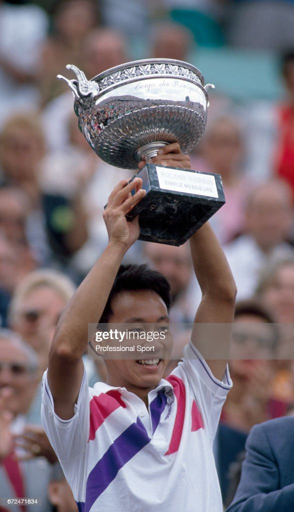 Michael Chang Wins The French Open : ニュース写真
