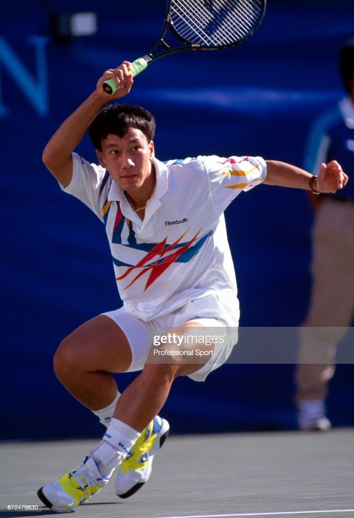 Michael Chang Of The Usa In Action At The Us Open Tennis News