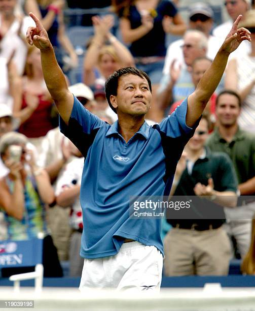 Michael Chang who earlier this year announced that he would retire after this years US Open bids final farewell after loosing in four sets to...