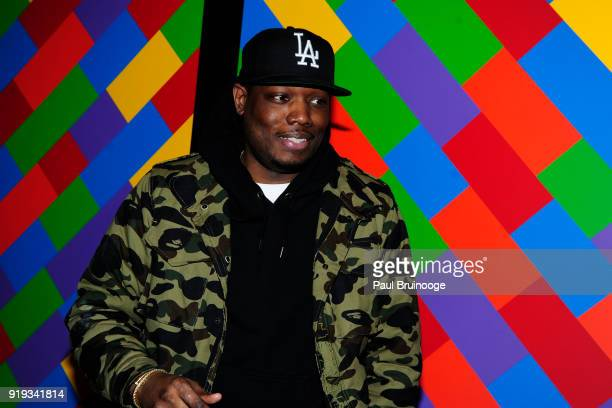 Michael Che attends The Cinema Society with Ravage Wines Synchrony host a screening of Marvel Studios' 'Black Panther' at The Museum of Modern Art on...