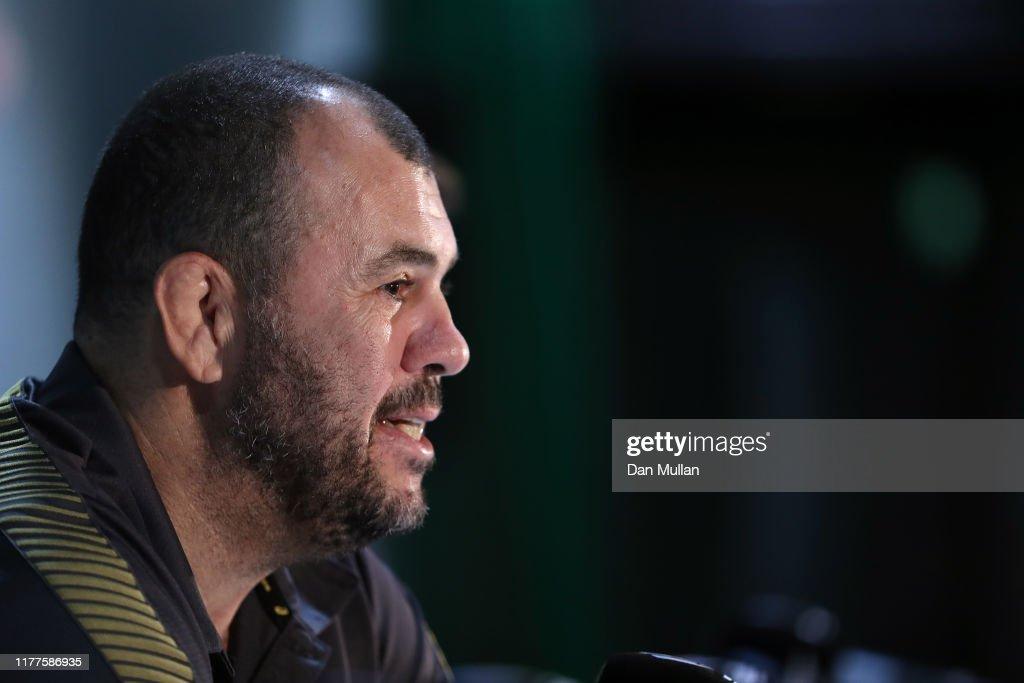 Australian Wallabies 2019 Rugby World Cup Captain's Run : News Photo
