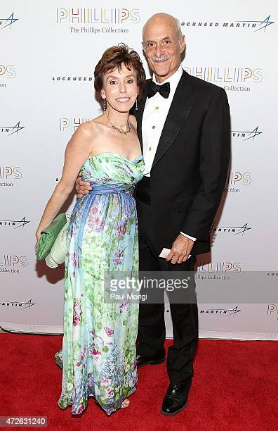 Michael Chertoff and Meryl Chertoff attend The Phillips Collection's 2015 Gala Postcards From Japan at The Phillips Collection on May 8 2015 in...