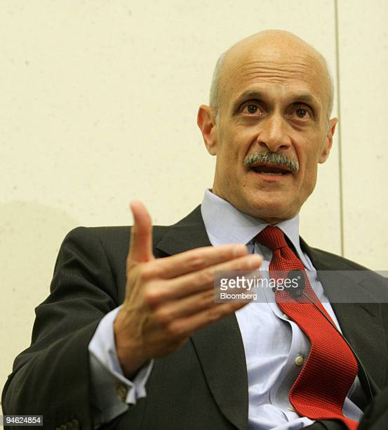 Michael Chertoff Secretary of the Department of Homeland Security gives a briefing Thursday June 1 2006 on the current state of Homeland Security at...