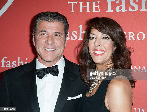 Michael Chiarello and Leslie Blodgett attends the 30th Annual Night Of Stars presented by The Fashion Group International>> at Cipriani Wall Street...