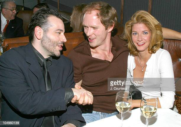 Michael Chiccarino Charles Askegard and Candace Bushnell