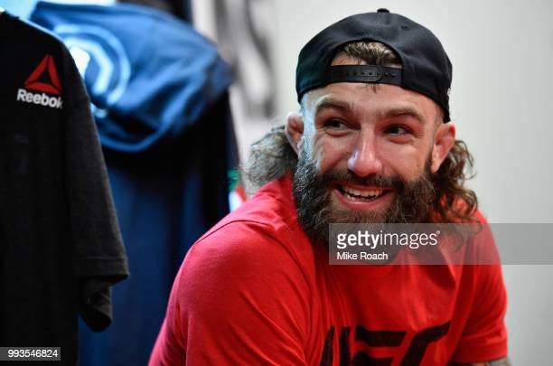 Michael Chiesa backstage during the UFC 226 event inside TMobile Arena on July 7 2018 in Las Vegas Nevada