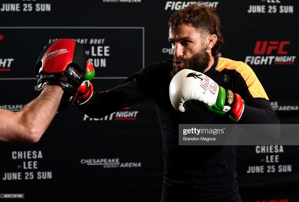 UFC Fight Night: Open Workout : News Photo