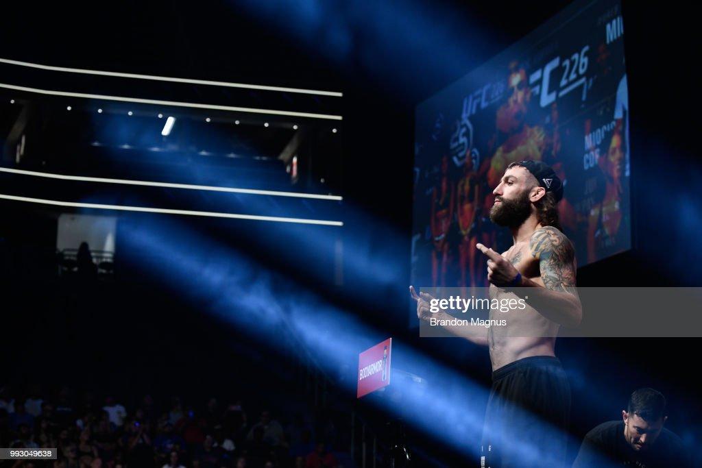UFC 226 Weigh-in : News Photo