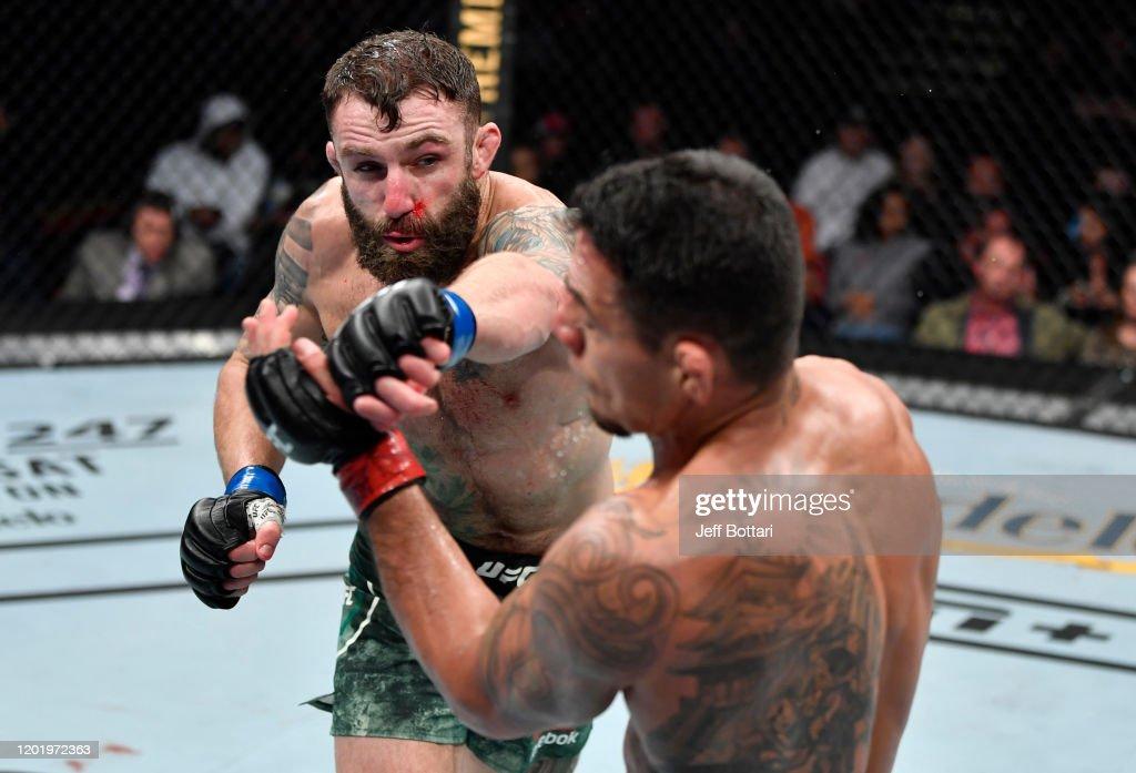 UFC Fight Night: Dos Anjos v Chiesa : News Photo