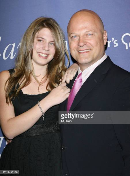 Michael Chiklis and daughter Autumn during 15th Annual Alzheimer's Benefit 'A Night At Sardi's' at Beverly Hilton Hotel in Beverly Hills California...