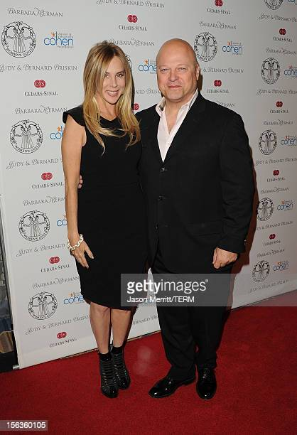 Michael Chiklis and Michelle Chiklis attends the 55th Annual Women's Guild Cedars-Sinai Gala held on November 13, 2012 in Beverly Hills, California.