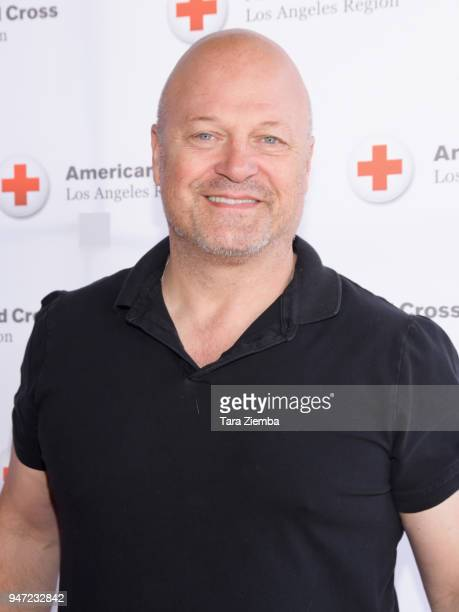 Michael Chiklis attends Red Cross' 5th Annual Celebrity Golf Tournament at Lakeside Golf Club on April 16 2018 in Burbank California
