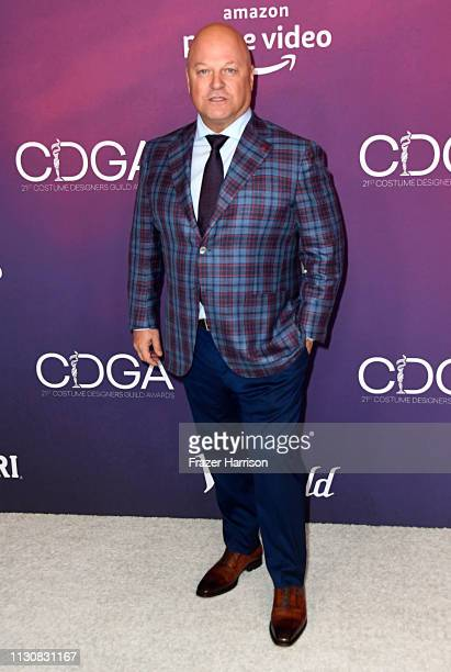 Michael Chiklis attends The 21st CDGA at The Beverly Hilton Hotel on February 19 2019 in Beverly Hills California