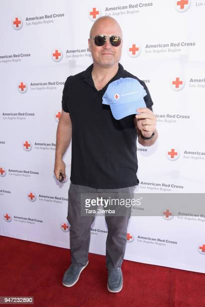 Michael Chiklis attends the Red Cross' 5th Annual Celebrity Golf Tournament at Lakeside Golf Club on April 16, 2018 in Burbank, California.