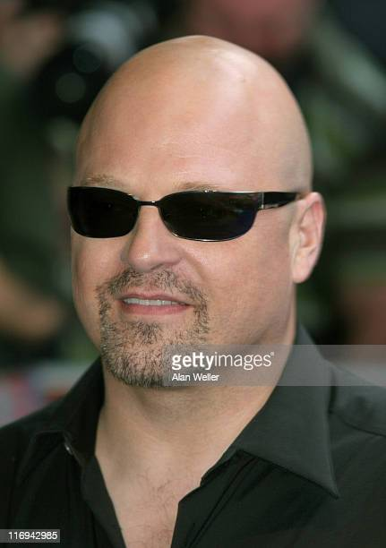 Michael Chiklis during 'Fantastic Four' London Premiere at Leicester Square in London Great Britain