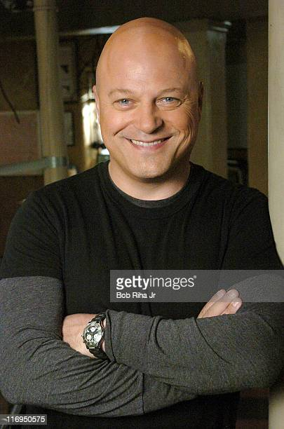 """Michael Chiklis during Glenn Close and Michael Chiklis on Set of FX Series """"The Shield"""" - March 3, 2005 at FX """"The Shield"""" Set in Los Angeles,..."""
