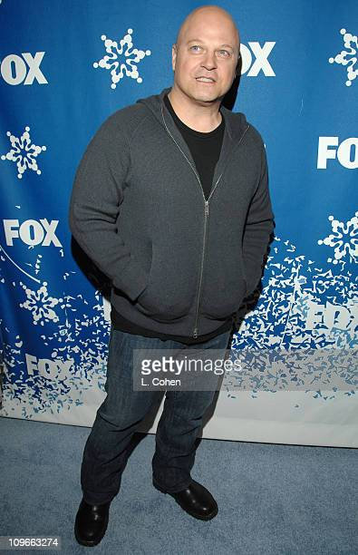 Michael Chiklis during The Fox All-Star Winter 2007 TCA Press Tour Party - Red Carpet and Inside at Villa Sorriso in Pasadena, California, United...