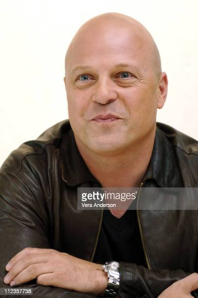 """Michael Chiklis during """"The Shield"""" Press Conference with Glenn Close and Michael Chiklis at Four Seasons Hotel in Beverly Hills, California, United..."""