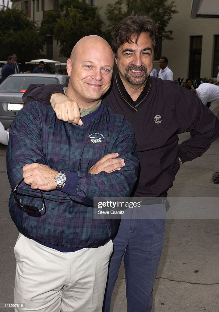 Michael Chiklis & Joe Mantegna during 4th Annual Elizabeth Glaser Pediatric AIDS Foundation Celebrity Golf Classic Sponsored By Mossimo & Mercedes-Benz at Riviera Country Club in Pacific Palisades, California, United States.