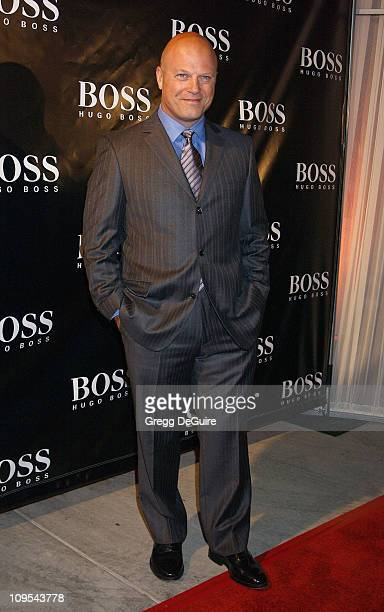 """Michael Chiklis of """"The Shield"""" during Hugo Boss Celebrates The Re-Opening Of Their Rodeo Drive Store at Hugo Boss Store in Beverly Hills,..."""