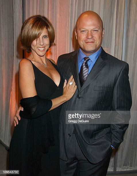Michael Chiklis Wife during Hugo Boss Celebrates The ReOpening Of Their Rodeo Drive Store at Hugo Boss Store in Beverly Hills California United States