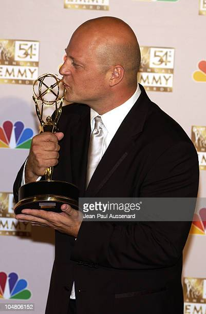 """Michael Chiklis, winner of Best Lead Actor In A Drama Series, """"The Shield"""""""