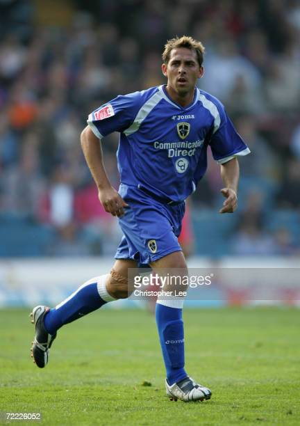 Michael Chopra of Cardiff City in action during the CocaCola Championship match between Crystal Palace and Cardiff City at Selhurst Park on October...