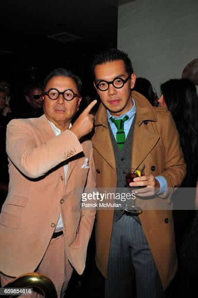Michael Chow and Jim Shi attend MR CHOW 30th Anniversary Celebration at MR CHOW on November 3 2009 in New York City