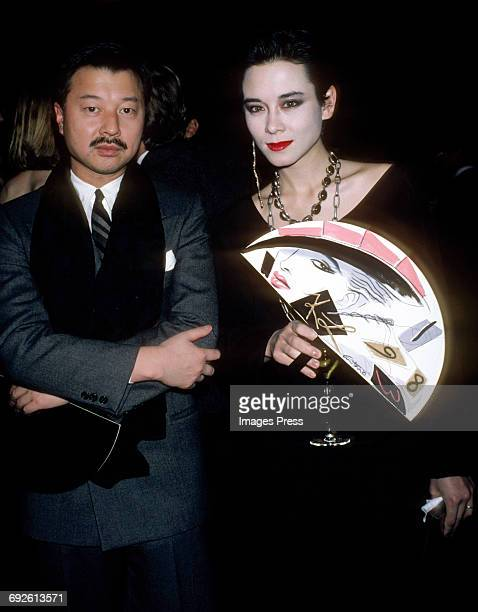 Michael Chow and Tina Chow circa 1983 in New York City