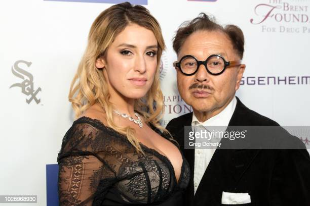 Michael Chow and Vanessa Rano attend The Brent Shapiro Foundation Summer Spectacular on September 7 2018 in Beverly Hills California