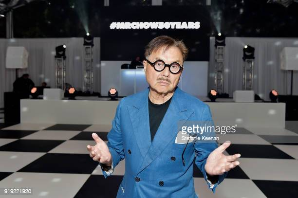 Michael Chow attends Mr Chow 50 Years on February 16 2018 in Vernon California