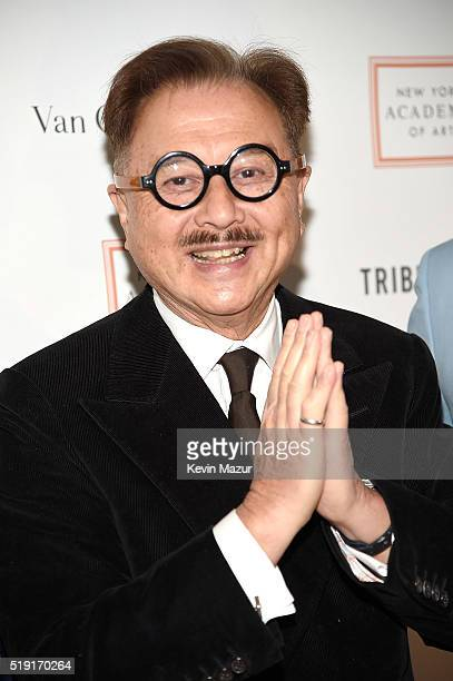 Michael Chow attends New York Academy Of Art's Tribeca Ball 2016 on April 4 2016 in New York City
